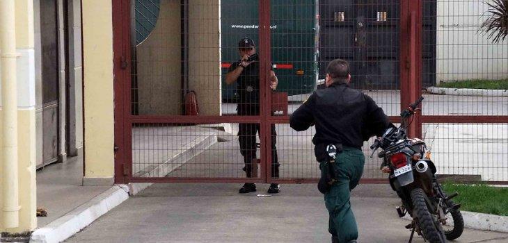 Cárcel de Angol   Marcelo Cartes/Agencia UNO