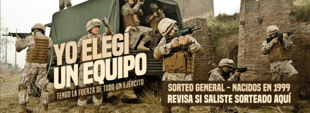 Servicio Militar 2018