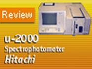 Hitachi's U-2000 Double-Beam UV/Vis Spectrophotometer | Biocompare Product Review