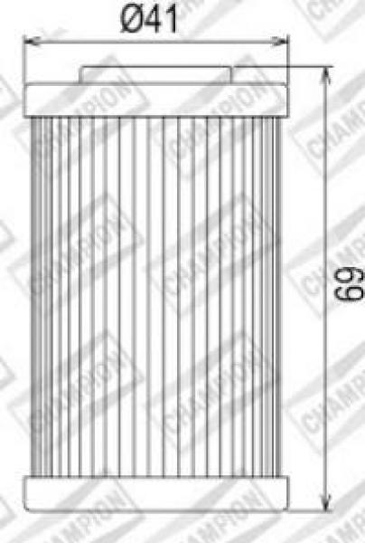 100609605 COF555 FILTRO OLIO KTM 690 Supermoto R1 ° filtro