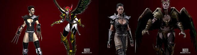 Diablo 2: Resurrected till PC och konsol under 2021, Remastrad Assassin och Succubus.