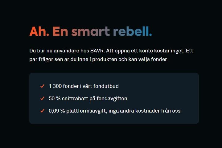 Spara pengar enkelt med mobilenm spara med Savr, skaffa Savr idag