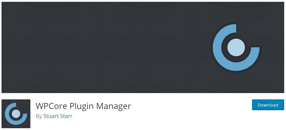 wpcore-plugin-manager-by-stuart-starr