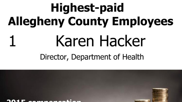 Here are Allegheny County's highest-paid employees