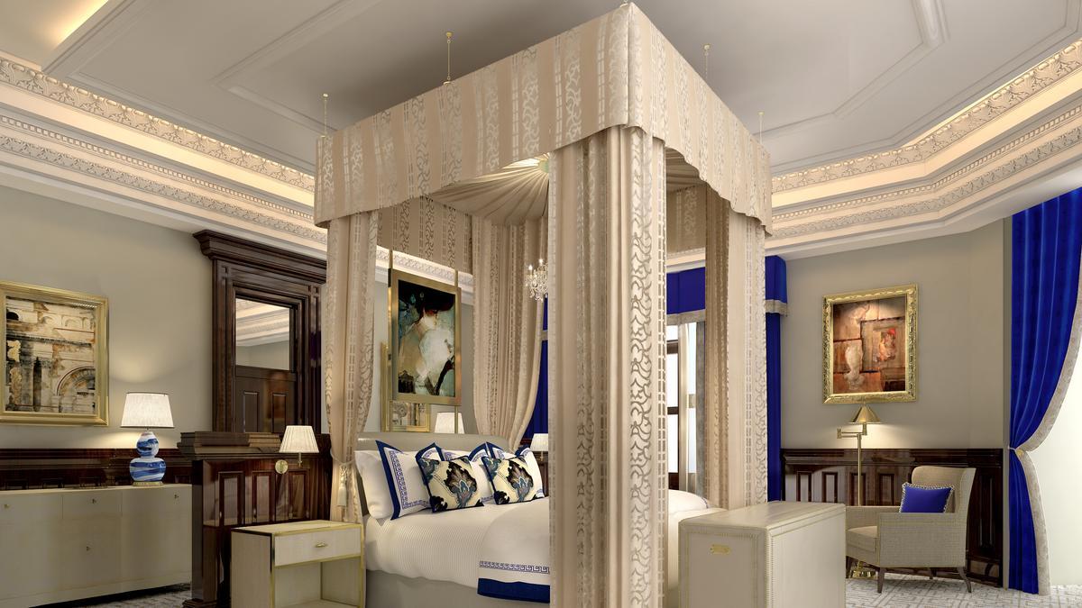 Trump International Hotel Washington D C Reveals Images Of Its Presidential Suite Washington Business Journal