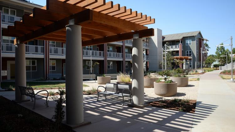 A formal dedication will be held for Mather Veterans Village in Rancho Cordova this week.
