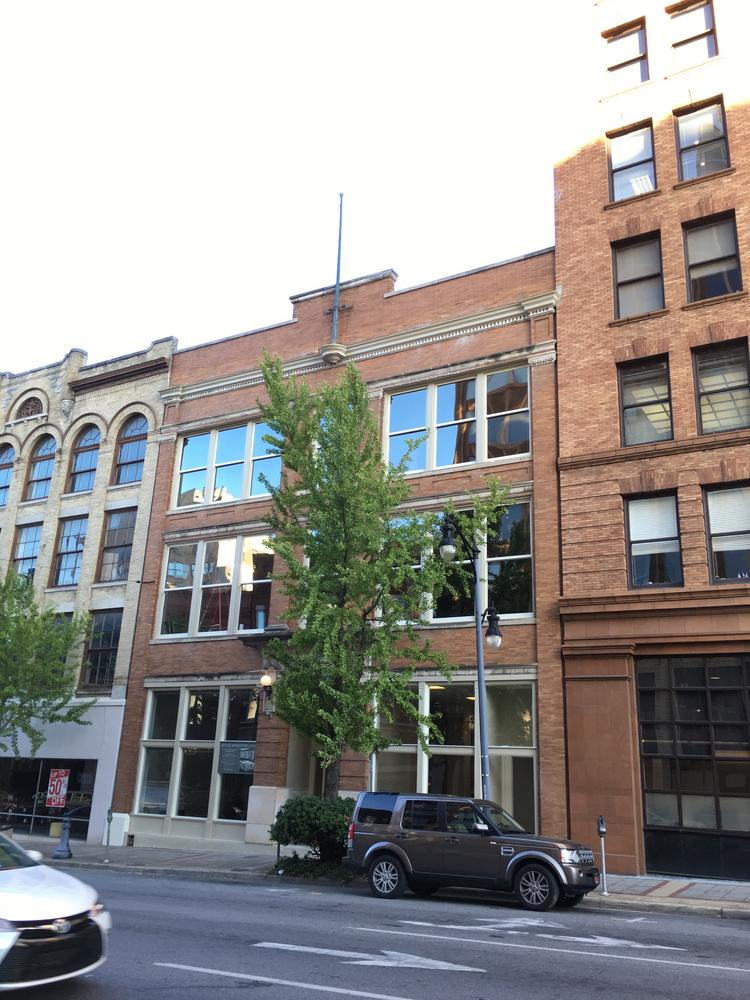 The historic Massey Business College Building on Third Avenue North has undergone a $1 million renovation project to turn it into flex office spaces.
