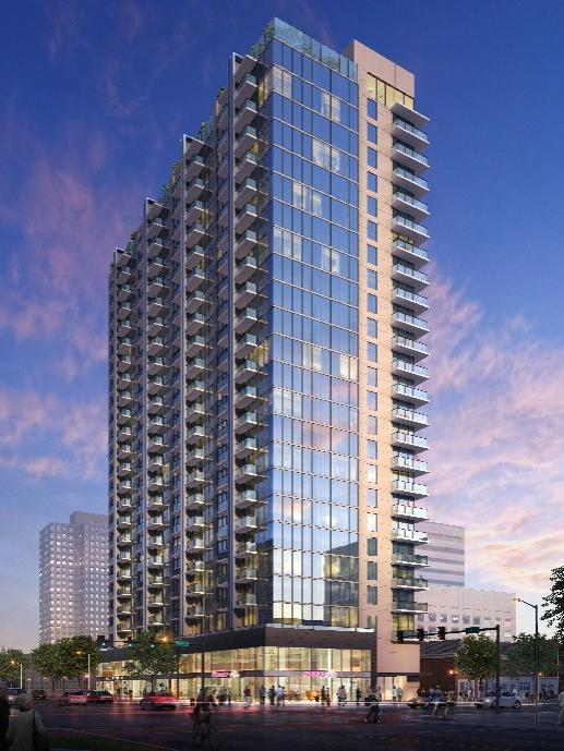 70 million apartment highrise proposed in downtown