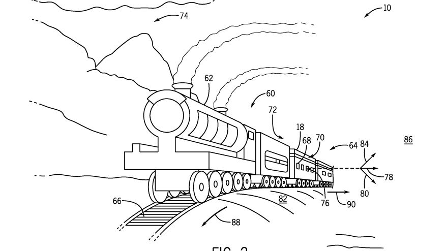Universal patent enhances Harry Potter Hogwarts Express