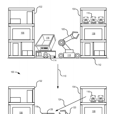 Amazon seeks to patent robots that pick and pack warehouse