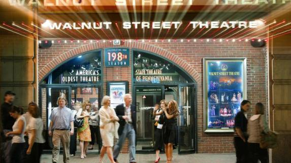 Image result for walnut street theatre the in between