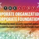 The List: South Florida's Top Corporate Philanthropists of 2017