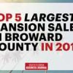 Year in Review: Biggest home sales of 2017 in Broward County