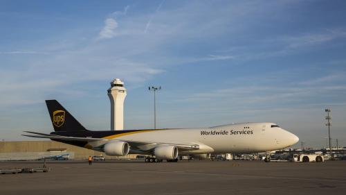 small resolution of take a look inside ups newest biggest boeing 747 8f cargo jet photos