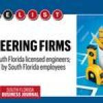 The List: South Florida's Largest Engineering Firms of 2018