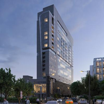 The Arts Residences at the Thompson San Antonio hotel by