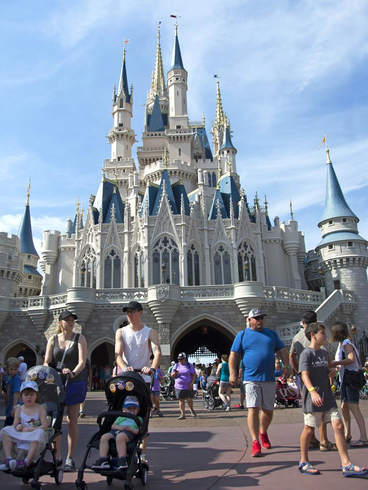 Disney shutters theme parks, cruise line; Universal attractions ...