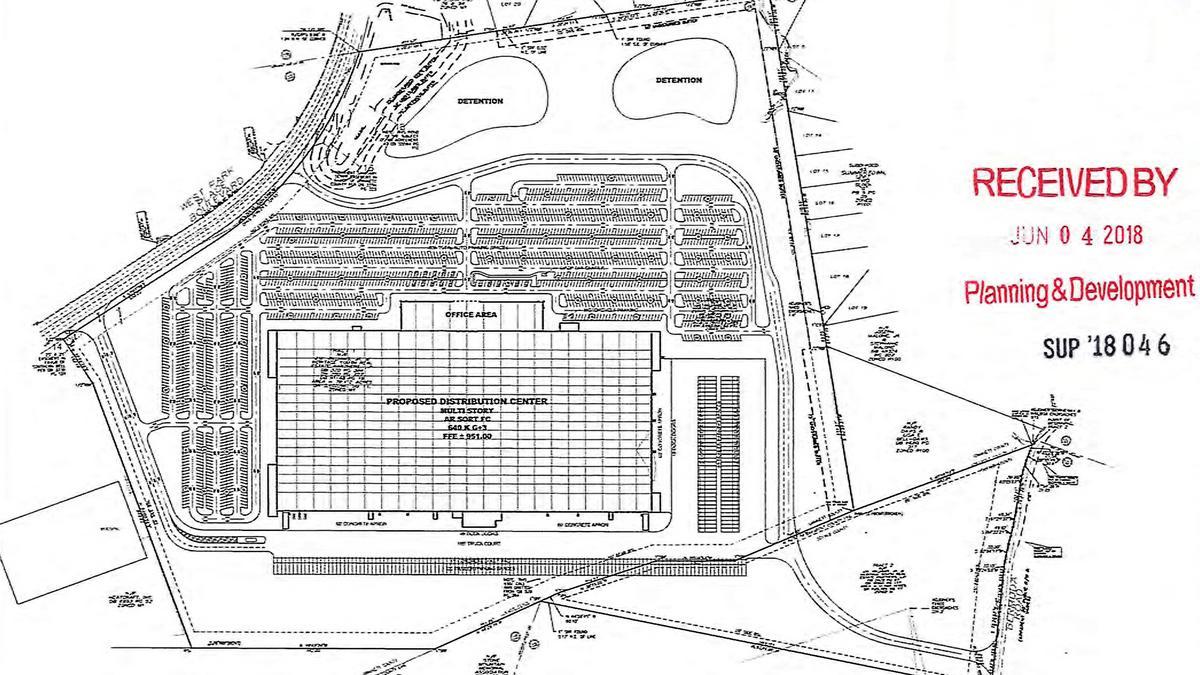 'Project Rocket' plans 2.5 million-square-foot