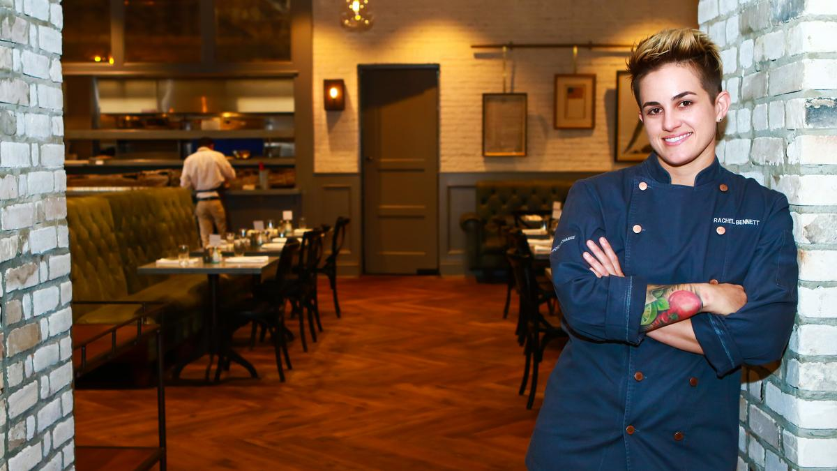 Rachel Bennett is the executive chef of The Peabody in St