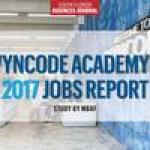 90% of Wyncode graduates found jobs, new study shows