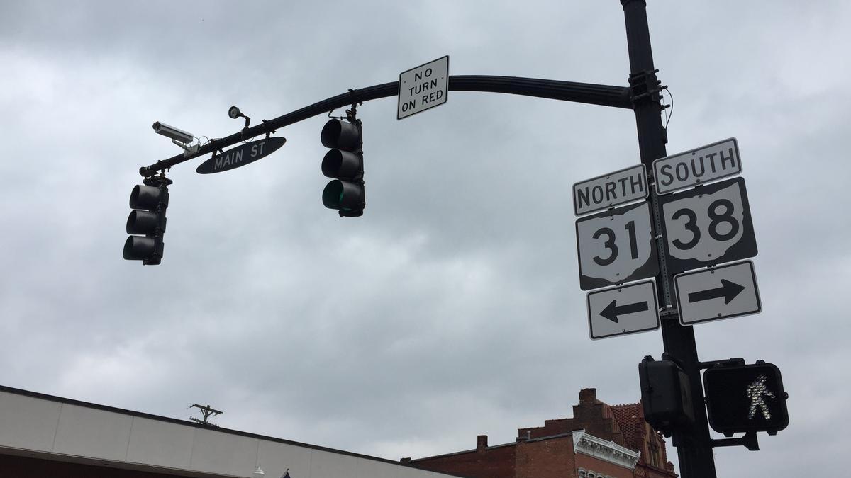Marysville 'smart Intersection' Warns Driver Of A