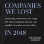 End of the year, end of the line: Companies we lost in 2018