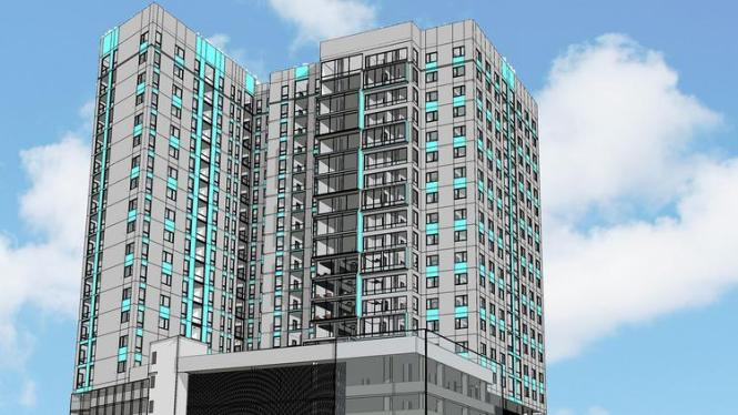 Deven Moving Forward With 23 Story Apartment Tower In