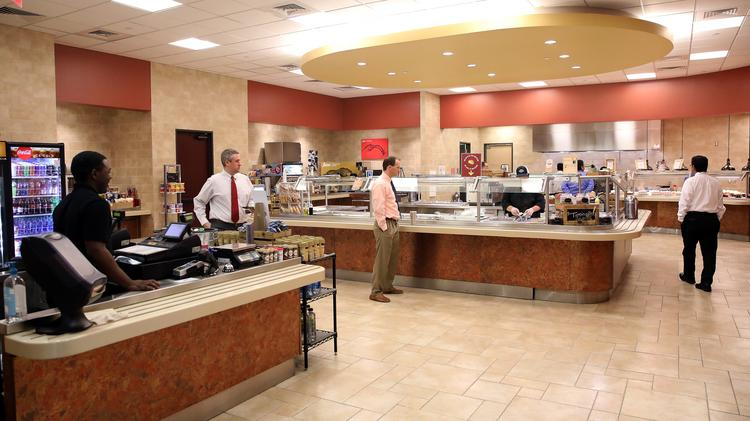 NuStar Energy offers a variety of restaurants for its employees.