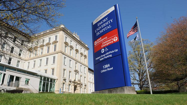 US News Emory University Hospital ranks No 1 in