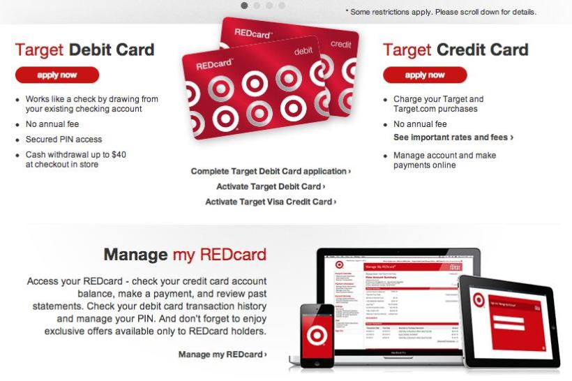 Target Com My Red Card Payment Online Cardss