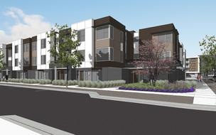 One of the townhome communities from Lennar at the Hitachi Global Storage Technologies site.