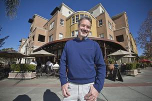 Matt Franklin oversees Silicon Valley's largest nonprofit affordable housing developer, MidPen Housing, which provides a place to live for more than 14,250 people in Northern California. One such affordable development, City Center Plaza in Redwood City, combines ground-floor restaurants and retail with several dozen housing units.