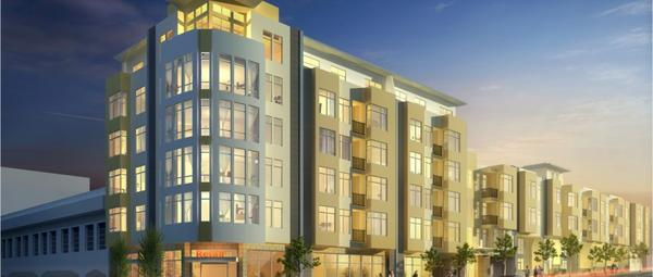 KB Home is now owner of a condo development site at 2655 Bush St. in San Francisco that was entitled by Thompson Dorfman and designed by KTGY.