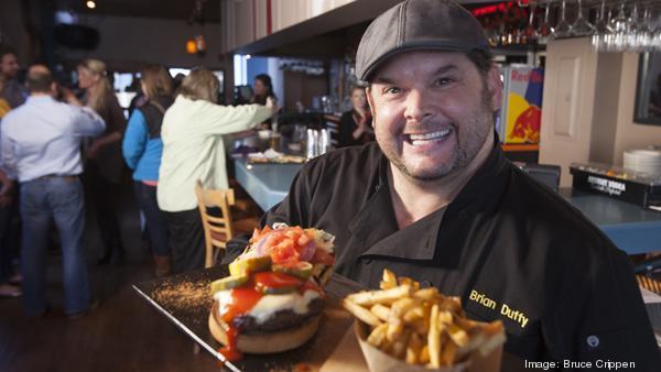 Celebrity chef helps Mt Adams Pavilion launch new menu SLIDESHOW  Cincinnati Business Courier