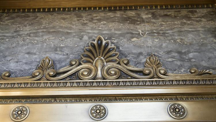 A detail from Columbus City Hall.