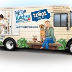 Milos Kitchen Countertop Shelf Milo S Found Out The Key To A Good Marketing Campaign Is Food Truck For Dogs