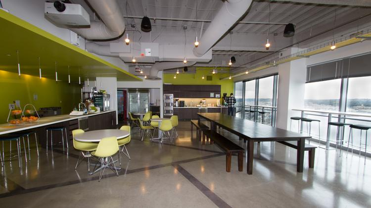 Cool Spaces Zillows downtown Seattle office