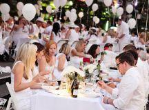 Scenes from the Dîner en Blanc party on Cincinnati's ...