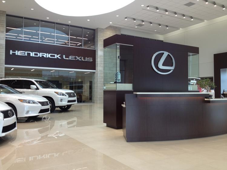 New Lexus Dealership Completes Hendrick Auto Group's