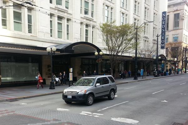Nordstrom Seattle store