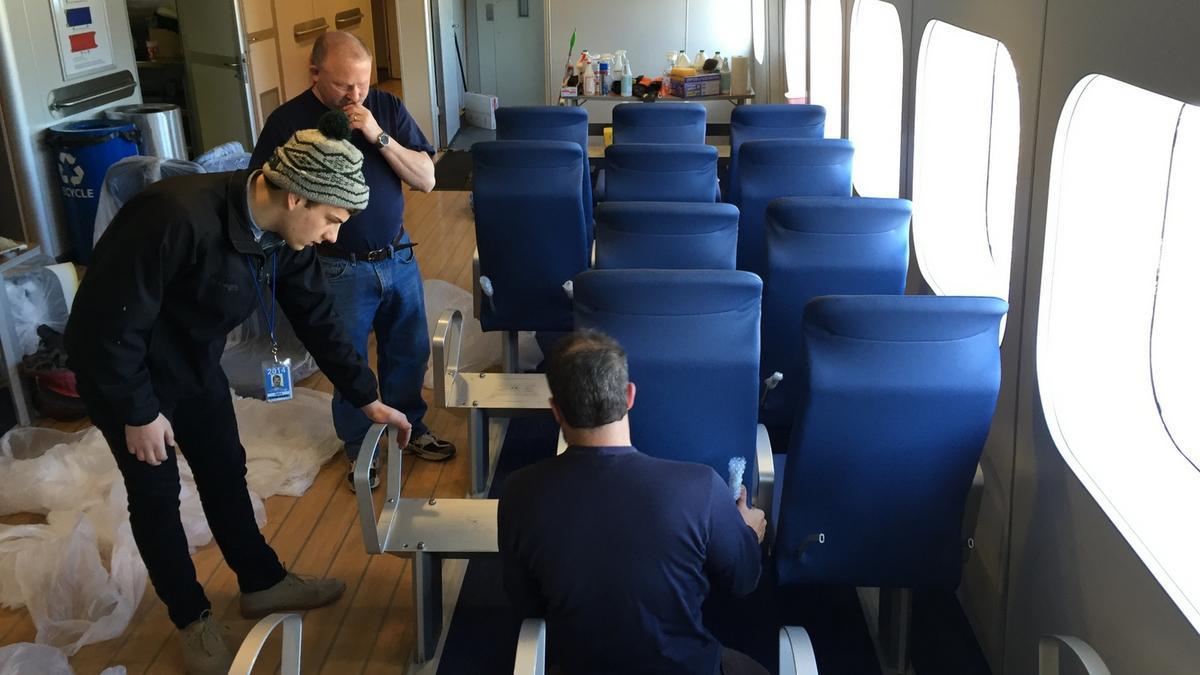 Milwaukeearea seatmaker saves Lake Express ferry