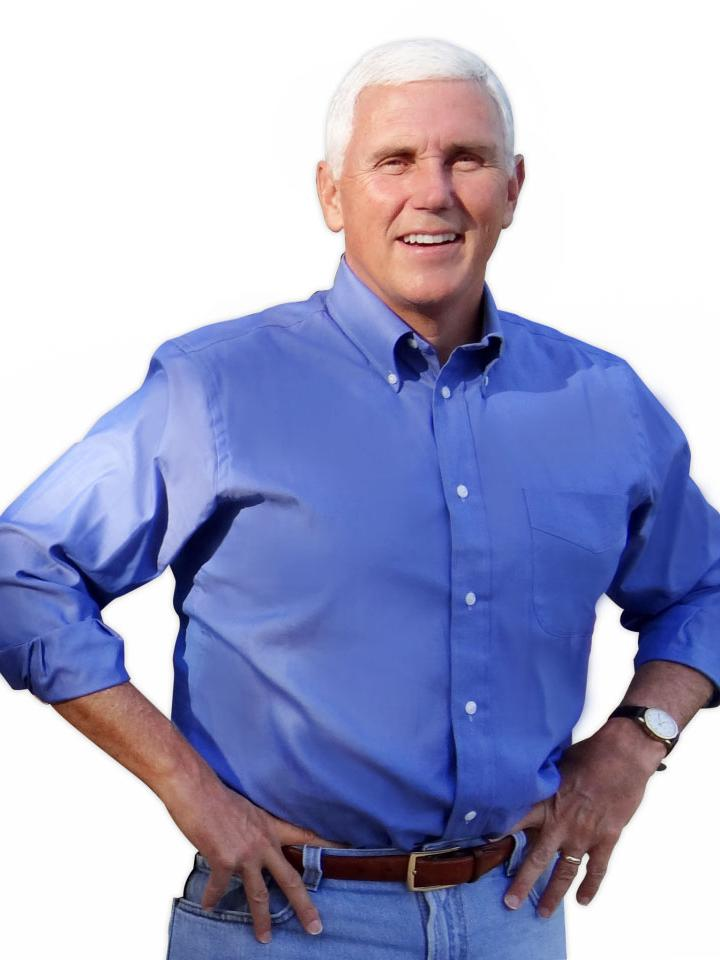 Image result for mike pence casual