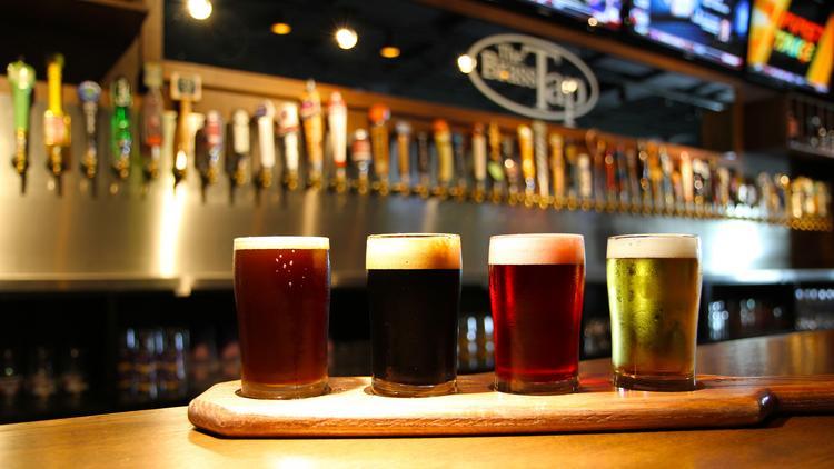 Brass Tap craft beer bar in Midtown delayed eyes December