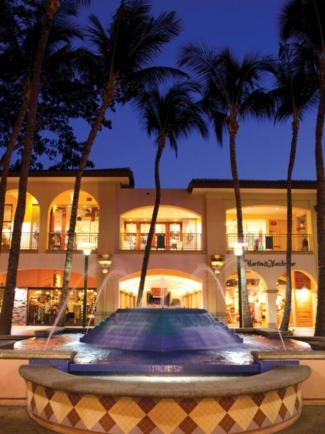 The Shops at Wailea has more than 70 boutiques, shops, restaurants and galleries and is managed by The Festival Companies.