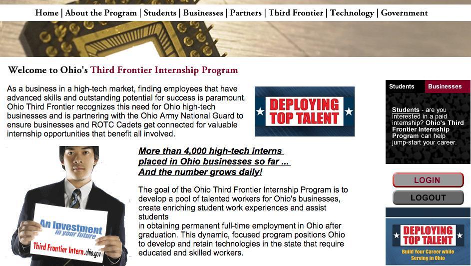 media internships ohio