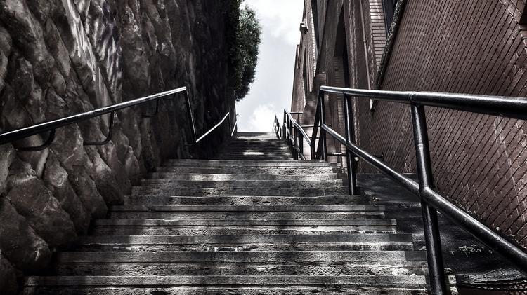 "Georgetown's ""the Exorcist"" Steps, Featured In The Book"