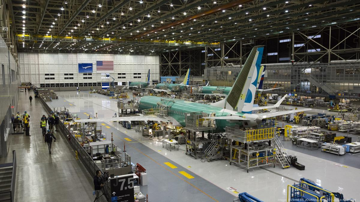 Resultado de imagen para Boeing 737 MAX 8 line assembly