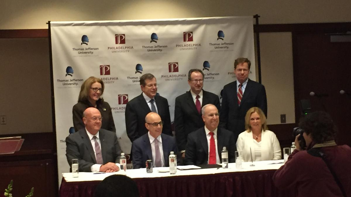 Thomas Jefferson, Philadelphia University Sign Letter Of Intent To Merge -  Philadelphia Business Journal