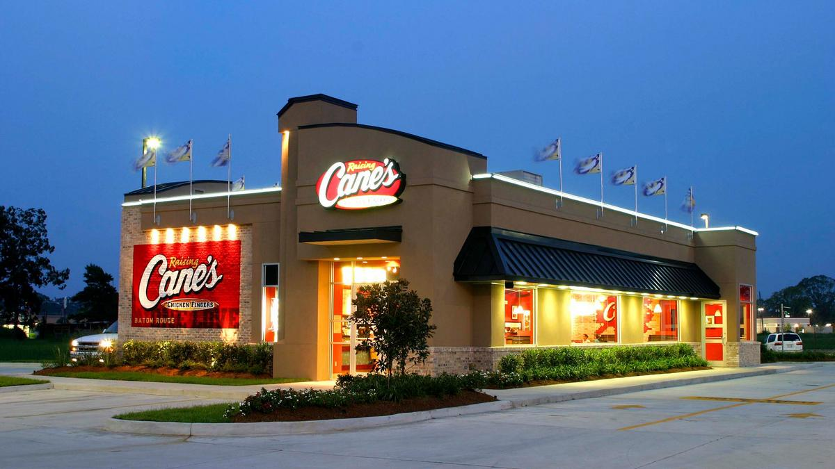 canes fast food