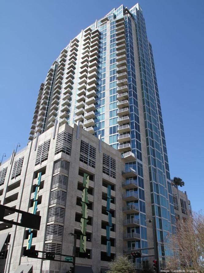Element 35 Story Apartment Tower In Downtown Tampa On